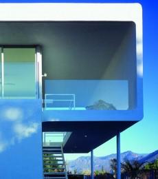 Exterior facade house design
